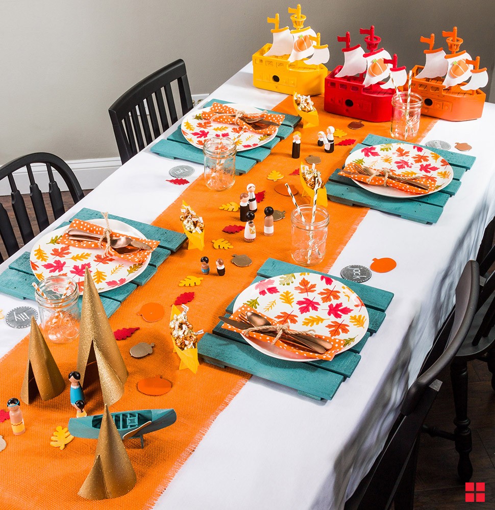 Tips for Creating a Fun Kids' Table for Thanksgiving!