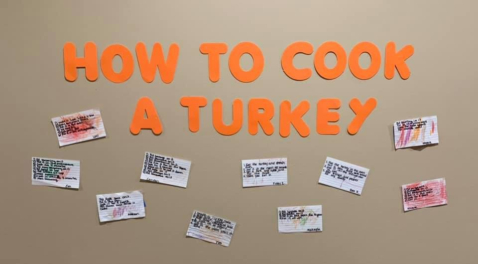 How to Cook a Turkey… Preschool edition!