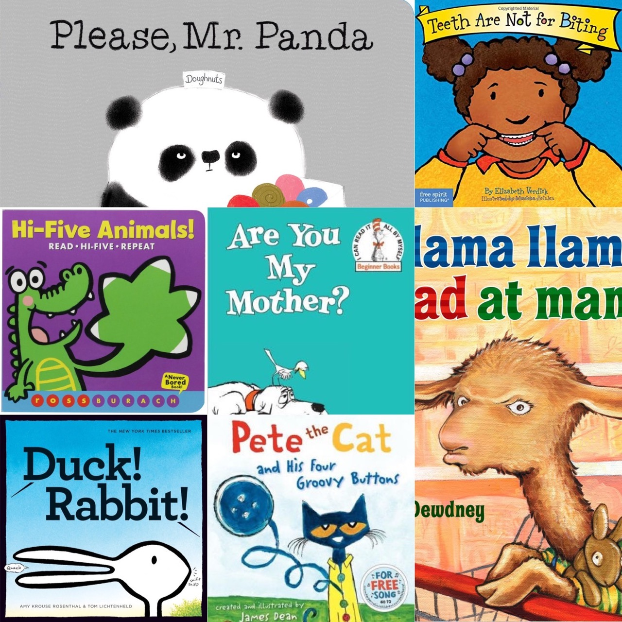 LT Teachers Top Ten Voted Children's Books